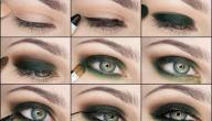 طريقة وضع ظلال العيون