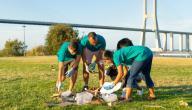 عمل تطوعي في المدرسة