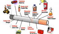 مكونات التبغ