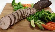 طريقة عمل اللحم البارد
