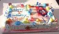 حلويات عيد ميلاد الأطفال