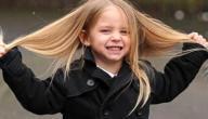 تطويل شعر الأطفال