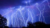 صوت الرعد والبرق