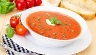طريقة شوربة الطماطم
