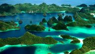 كم عدد جزر إندونيسيا