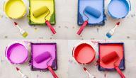 كيفية مزج الألوان لطلاء الجدران