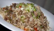 طريقة الأرز بالكبد والقوانص