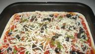 طريقة تحضير البيتزا في البيت