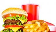 عدد السعرات الحرارية في الطعام