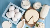 فوائد البيض مع الحليب