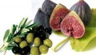 فوائد التين وزيت الزيتون
