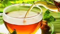 فوائد الشاي الأخضر بالنعناع للكرش