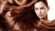 طريقة صبغ الشعر بالحناء باللون البني