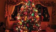 طريقة عمل شجرة الكريسماس