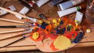 كيفية خلط الألوان