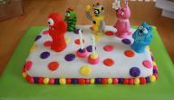 طريقة عمل كيكة عيد ميلاد للأطفال