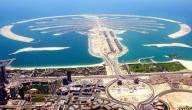 جزيرة النخلة في الإمارات
