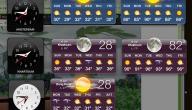 تعريف درجة الحرارة