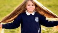 أفضل زيت لتطويل شعر الأطفال