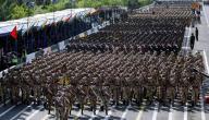 كم عدد جيش إيران