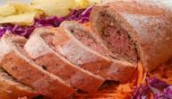 طريقة عمل رغيف اللحم