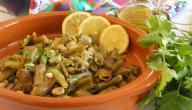 طريقة طبخ الفول الأخضر بالزيت