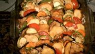 طريقة عمل مسقعة الباذنجان والبطاطا