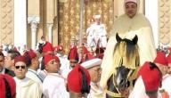 عيد العرش في المغرب