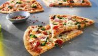 عمل عجينة البيتزا الهشة
