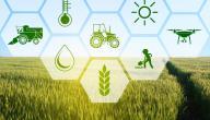 خصائص البيئة الزراعية
