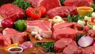 طعام يحتوي على البروتين