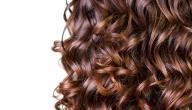 طريقة تمويج الشعر