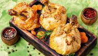 طريقة أفخاذ الدجاج بالبف باستري