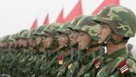 عدد أفراد الجيش الصيني