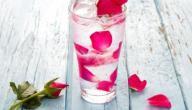 فوائد ماء الورد للحامل