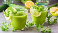 فوائد عصير البقدونس والليمون
