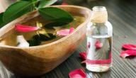 فوائد النشا مع ماء الورد