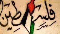 مقال عن فلسطين