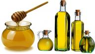فوائد العسل مع زيت الزيتون