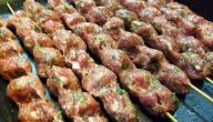 عمل كباب اللحم