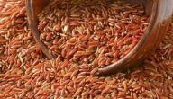 فوائد الأرز الأحمر