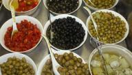 فوائد الزيتون الأخضر المخلل