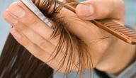 ما علاج تقصف الشعر