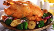 طريقة طهي الدجاج المحمر
