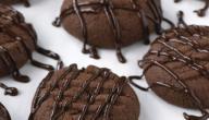 طريقة عمل البسكويت مع الكاكاو