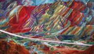 جبال قوس قزح في الصين