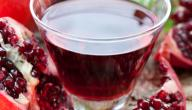 طريقة شاي الرمان