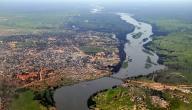ما طول نهر النيل