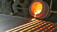 كيف تتم صناعة الحديد