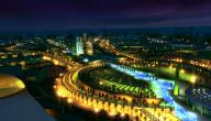 مدينة تبوك بالمملكة العربية السعودية